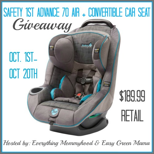 car seat safety giveaway