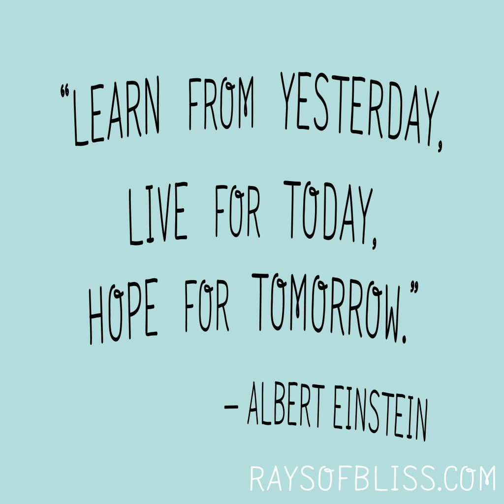 Inspirational Quotes Bliss Defined, Love, Live for Today!